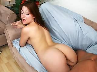Asian public sex while working